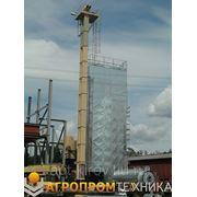Шахтная модульная зерносушилка С-5 фото
