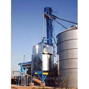 Зерносушилка на соломе, производительность по кукурузе 24 т/сутки фото