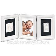 Рамка тройная для фотографии и 2-ух отпечатков фото