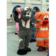 Ростовые куклы - персонажи известных мультфильмов фото