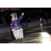 Ростовая кукла Белый Мишка фото