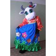Ростовая кукла «Корова» фото