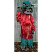 Ростовая кукла «Кот в народной рубахе» фото