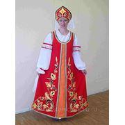 Женский сценический костюм (С-16) фото