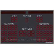 Табло электронное для хоккея Электроника 7 047 +управление+заворотные огни фото