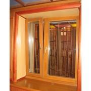 Окна деревянные. фото