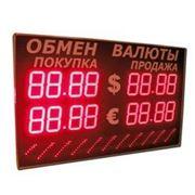 Табло курса валют+Бегущая строка 335-2х2-S20x96 фото