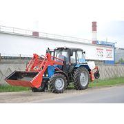 Трактор МТЗ-82.1 (2013 г.в) с погрузчиком ПФН-0.9, ковшом 0.75м3, щеткой пм фото