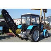 Экскаватор траншейный цепной на МТЗ-82.1 ЭЦУ 150 фото