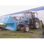 Челюстной погрузчик (ПКУ-08) на тракторе Беларус (МТЗ)