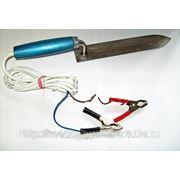 Нож электрический для распечатки сотов н/ж (марка стали 40Х13), 12 Вольт, мощность 25 Вт
