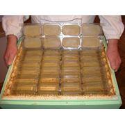 Магазинные рамки для получения сотового меда в упаковке фото