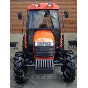 Сельскохозяйственный трактор KIOTI DK551C с кабиной + кондиционером + отопителем + СD + радио + MP3 + AUX фото