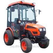 Трактор 22 л.с. KIOTI СK-22HCAB (Мини-трактор с кабиной и с АКПП) фото