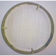 Колпачек металический ( белая жесть) диаметр 128 мм. фото