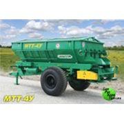 Машина для внесения твердых минеральных удобрений МТТ-4У фото