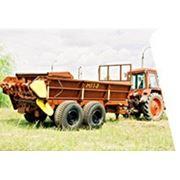 Машина для внесения твердых органических удобрений ПРТ-7А. фото