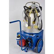 АД-02СК Агрегат доильный для коз, кобылиц, лосих, верблюдиц, селикон фото