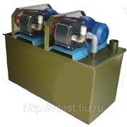 Установка вакуумная водокольцевая НВУ-150 фото