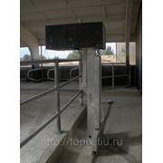 Скрепер для удаления навоза в коровнике (дельта скрепер, комби скрепер) цепной и тросовый. Топикс Агро фото
