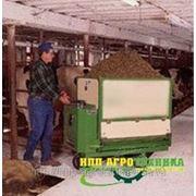 Тележка автоматической раздачи кормов фото
