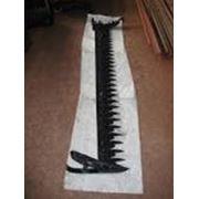 Нож на косилку КН-2,1 длиной 2,1 метра в сборе фото