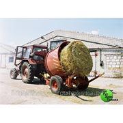 Измельчитель рулонов корма ИРК-145 фото