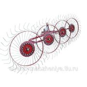 Грабли-ворошилки навесные боковые 4-х колесные,3м.(Турция) фото