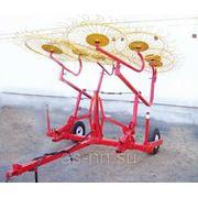Грабли колесно-пальцевые ГКП-6,0 фото