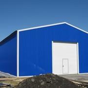 Строительство складских помещений из металлоконструкций, с использованием термопрофилей и ЛСТК. фото