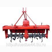 Почвофреза приводная 1GN-140, захват 140 см. на минитрактора от 20 до 25 л. с. + Видеоролик.