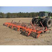 Культиватор для сплошной обработки почвы (усиленный, итальянская S-образная стойка 45х12 с подпружинником), комплектация: КПМ- 10 фото