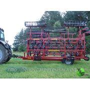 Культиватор для сплошной обработки почвы (усиленная итальянская S-образная стойка с подпружинником), комплектация: КПМ-14 фото