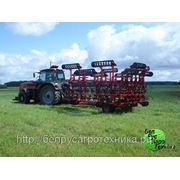 Культиватор для сплошной обработки почвы (усиленная итальянская S-образная стойка с подпружинником), комплектация: КПМ-16 фото