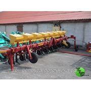 Культиватор для междурядной обработки почвы с подкорм. приспособлением для внесения сыпучих минеральных удобрений КРН-5,6А фото