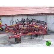 Культиватор для сплошной обработки почвы (усиленная итальянская S-образная стойка 45х12 с подпружинником), комплектация: КПМ-8 фото