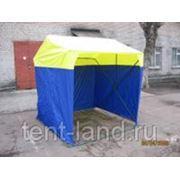 Палатка торговая «Кабриолет» 1,5x1,5 фото