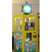 Автомат по приготовлению и продаже сахарной ваты в Перми. фото