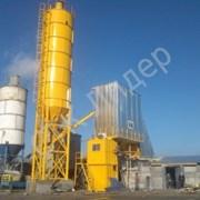 Зимний бетонный завод HZS 100 фото
