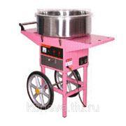 Аппарат для приготовления сахарной ваты STARFOOD ET-MF-05 с тележкой (диам.520мм) фото