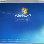 Услуги установка Windows, восстановление Windows фото