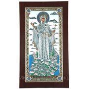 Икона Богородица Игуменья г. Афон 150х255 (мм) фото