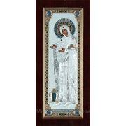 Икона Богородицы Старица 100х220(мм) фото