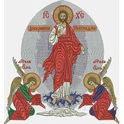 """Икона """"Воскресение"""" - дизайн для машинной вышивки фото"""