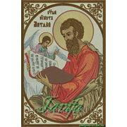 Икона Апостола Матфея - дизайн для машинной вышивки фото