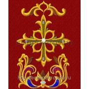 Закладка в Евангелие 02-дизайн для машинной вышивки фото