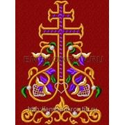 Закладка в Евангелие 03 - дизайн для машинной вышивки фото
