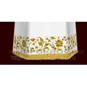 Церковная вышивка. Подризник 05-дизайн для машинной вышивки фото