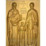 Святые: Рафаил, Николай и Ирина фото
