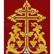 Закладка в Евангелие 04 - дизайн для машинной вышивки